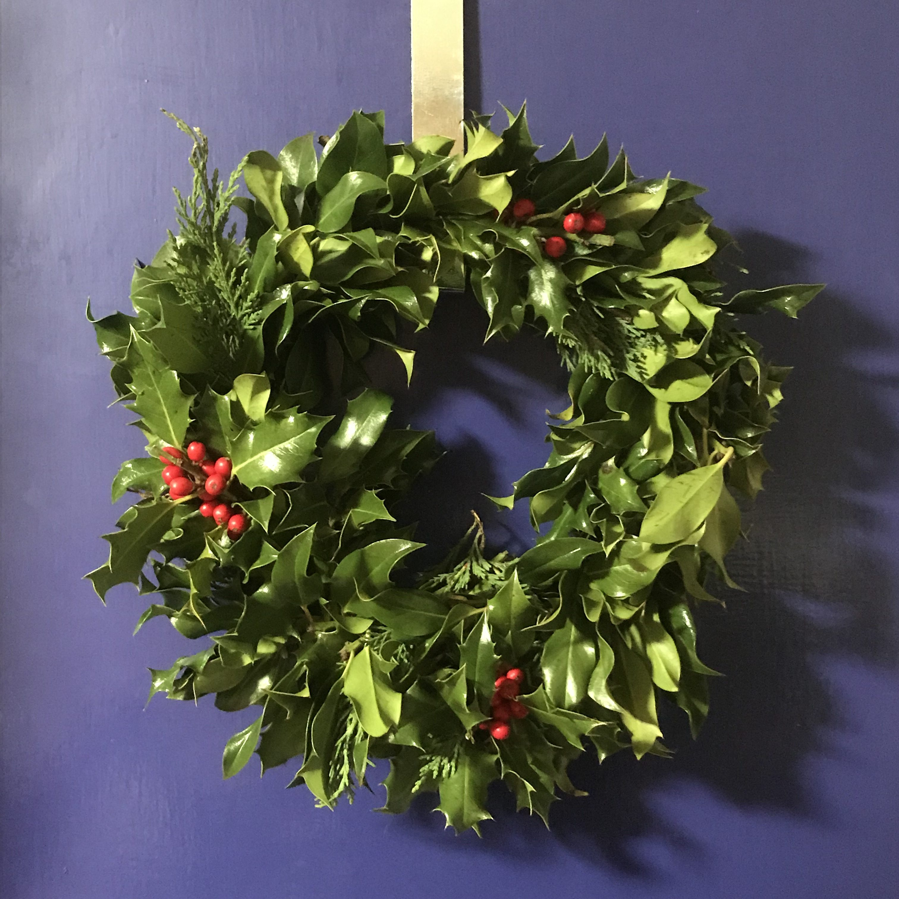 Christmas Wreath - grieving at Christmas